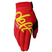 Deft Family Youth Gloves Eqvlnt Solid Red