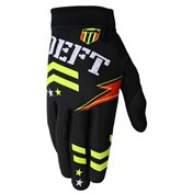 Deft Family Gloves Eqvlnt Badge Black