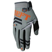 Deft Family Gloves Eqvlnt Badge Gray