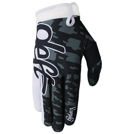 Deft Family Gloves Eqvlnt Camo Black