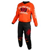 ASW Kids Pant BLACK/ORANGE