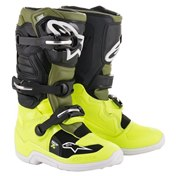 Alpinestars Tech 7 Junior Fluo/Yellow/Military Green, 37