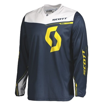 SCOTT JERSEY 350 DIRT KIDS BLUE/YELLOW