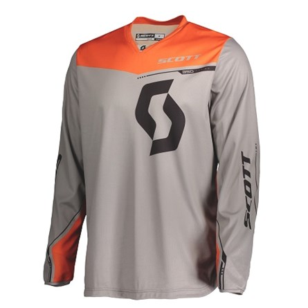 SCOTT JERSEY 350 DIRT KIDS GREY/ORANGE