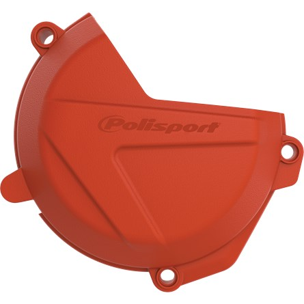 Polisport Clutch Cover Protection Orange, KTM EXC-F 250/350 17-20