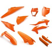 KTM ORIGINAL PLASTIC PARTS FULL KIT ELECTRONIC ORANGE, KTM SX/SX-F 125-450 19->, EXC/EXC-F 20->