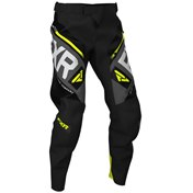 FXR Clutch Off-Road Pants Black/Char/HiVis/Lt Grey 2020