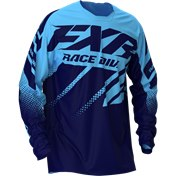 FXR Clutch MX Jersey Sky Blue/Midnight Fade 2020
