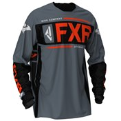 FXR Clutch Off-Road Jersey Steel/Black/Nuke 2020