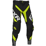 FXR Youth Pro-Stretch MX Pant Revo Hi Vis/Black/Char 2020
