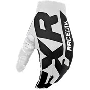 FXR Slip-On Air MX Glove White/Black 2020