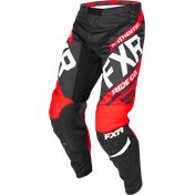 FXR CLUTCH RETRO MX PANT BLACK/RED