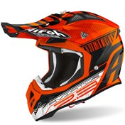 Airoh Hjälm Aviator 2.3 AMSS Novak Orange/Chrome