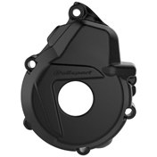Polisport Ignition Cover Protection Black, KTM EXC-F 250/350 17-20, FREERIDE 250F 18-19, HQV FE 250/350 18-20