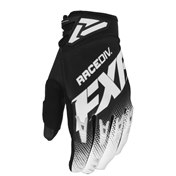 FXR Ride Adjustable MX Glove Black/White