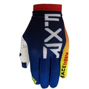 FXR Slip-On Air MX Glove Navy/Blue/Red/Hi Vis 2021