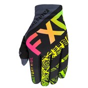 FXR Youth Slip-On Lite MX Gloves Sherbert Aztec