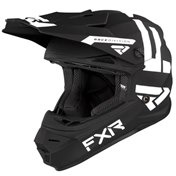 FXR Youth Ungdom Legion Helmet 21 Black/White