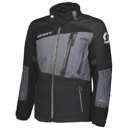 SCOTT JACKET PRIORITY GTX BLACK/IRON GREY
